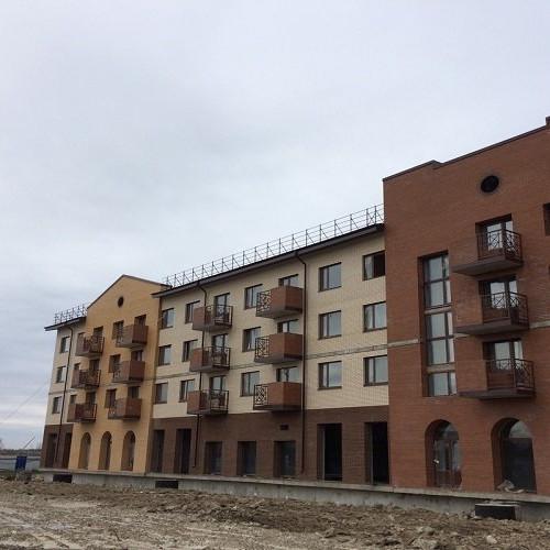 Ход строительства Итальянский квартал корпус 1.1