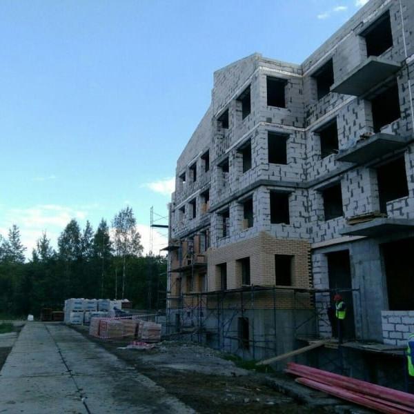 Строительство жилого комплекса Итальянский квартал