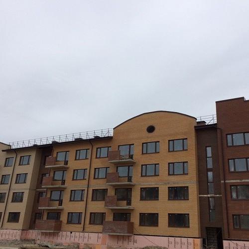 Ход строительства Итальянский квартал корпус 2.2