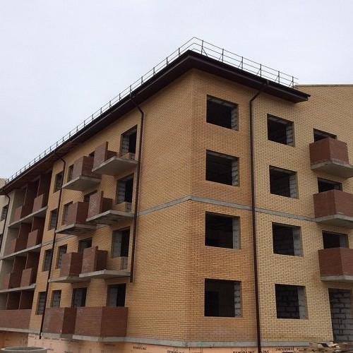 Ход строительства Итальянский квартал корпус 4.2