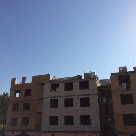 Сентябрь 2017 комплекс Итальянский квартал фото строительства