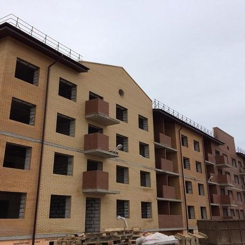 Ход строительства Итальянский квартал корпус 4.1
